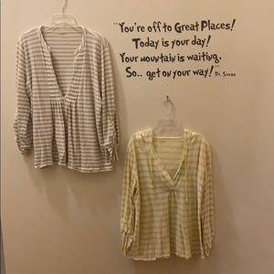 Ann Taylor Loft Lounge 2 Long Sleeve T-shirts XL